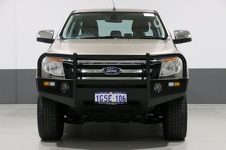 2015 Ford Ranger PX XLT 3.2 (4x4) Gold 6 Speed Automatic Dual Cab Utility.