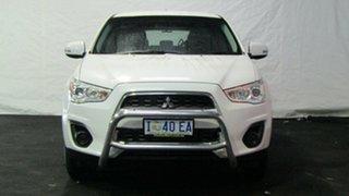 2013 Mitsubishi ASX XB MY14 2WD White 5 Speed Manual Wagon.