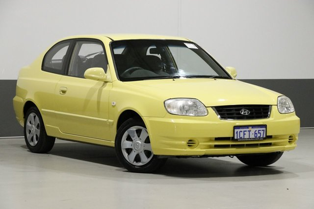 Used Hyundai Accent LS 1.6, 2006 Hyundai Accent LS 1.6 Yellow 5 Speed Manual Hatchback