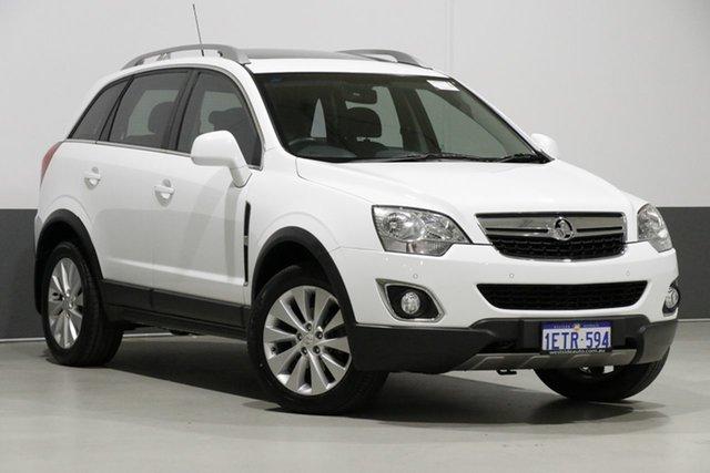Used Holden Captiva CG MY15 5 LT (AWD), 2015 Holden Captiva CG MY15 5 LT (AWD) White 6 Speed Automatic Wagon