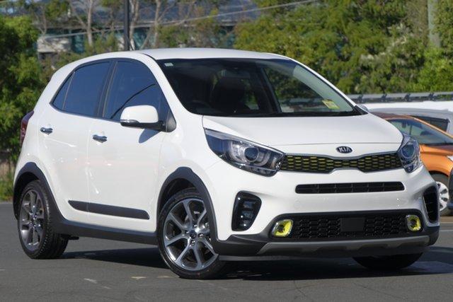 New Kia Picanto JA MY19 X-Line, 2019 Kia Picanto JA MY19 X-Line White 4 Speed Automatic Hatchback