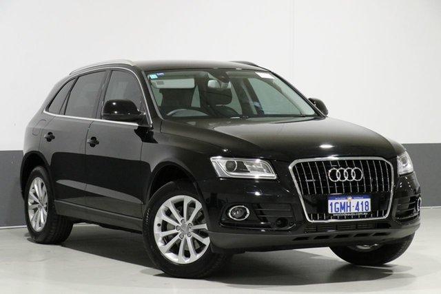 Used Audi Q5 8R MY14 2.0 TFSI Quattro, 2014 Audi Q5 8R MY14 2.0 TFSI Quattro Black 8 Speed Automatic Wagon