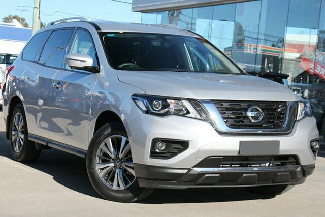 New Nissan Pathfinder R52 Series III MY19 ST+ X-tronic 2WD, 2019 Nissan Pathfinder R52 Series III MY19 ST+ X-tronic 2WD Brilliant Silver 1 Speed