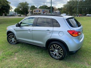 2016 Mitsubishi ASX XC MY17 LS (2WD) Silver Continuous Variable Wagon