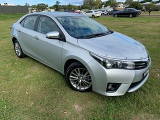 2014 Toyota Corolla ZRE172R SX Silver Ash 7 Speed CVT Auto Sequential Sedan.