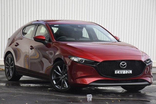 Demo Mazda 3 BP2HLA G25 SKYACTIV-Drive GT, 2019 Mazda 3 BP2HLA G25 SKYACTIV-Drive GT Red 6 Speed Sports Automatic Hatchback