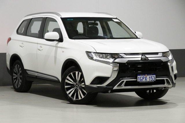 Used Mitsubishi Outlander ZL MY18.5 LS 7 Seat (AWD), 2018 Mitsubishi Outlander ZL MY18.5 LS 7 Seat (AWD) White Continuous Variable Wagon