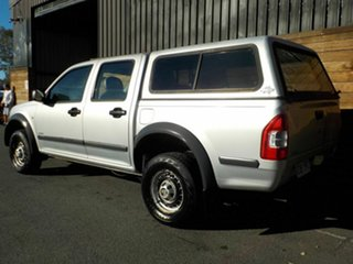 2004 Holden Rodeo RA LX Crew Cab 4x2 Silver 4 Speed Automatic Utility