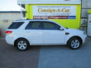 2013 Ford Territory SZ TX Seq Sport Shift White 6 Speed Sports Automatic Wagon