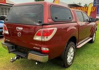 2013 Mazda BT-50 UP0YF1 GT Red 6 Speed Sports Automatic Utility.