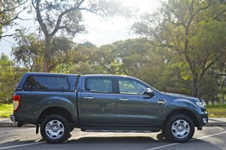 2015 Ford Ranger PX MkII XLT Double Cab 4x2 Hi-Rider Grey 6 Speed Sports Automatic Utility.