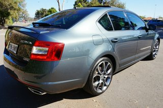 2015 Skoda Octavia NE MY15.5 RS Sedan DSG 162TSI Grey 6 Speed Sports Automatic Dual Clutch Liftback.