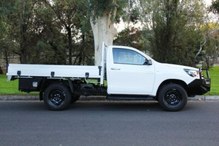 2015 Toyota Hilux GUN126R SR White 6 Speed Manual Cab Chassis