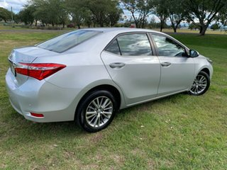 2014 Toyota Corolla ZRE172R SX Silver Ash 7 Speed CVT Auto Sequential Sedan