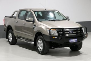 2015 Ford Ranger PX XLT 3.2 (4x4) Gold 6 Speed Automatic Dual Cab Utility