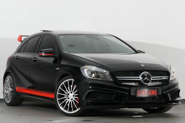 Used Mercedes-Benz A45 W176 805+055MY AMG SPEEDSHIFT DCT 4MATIC, 2015 Mercedes-Benz A45 W176 805+055MY AMG SPEEDSHIFT DCT 4MATIC Black 7 Speed
