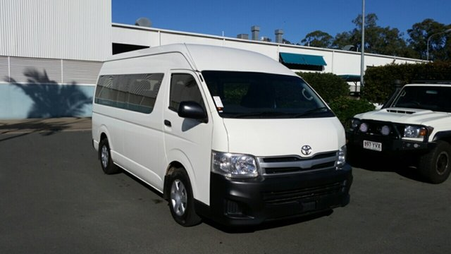Used Toyota HiAce TRH223R MY12 Commuter High Roof Super LWB, 2013 Toyota HiAce TRH223R MY12 Commuter High Roof Super LWB French Vanilla 4 Speed Automatic Bus