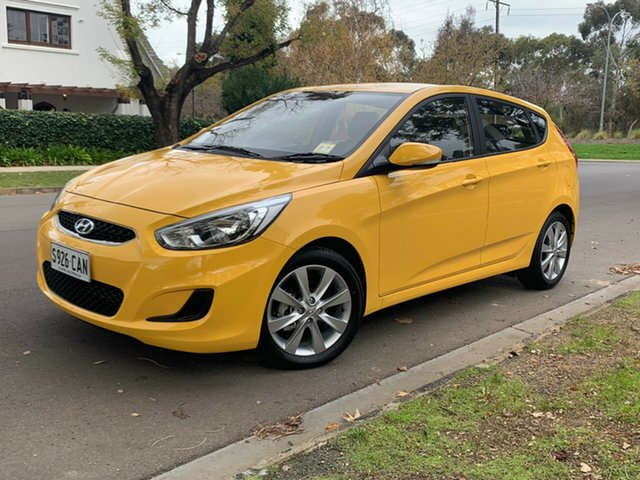 Demo Hyundai Accent RB6 MY18 Sport, 2018 Hyundai Accent RB6 MY18 Sport Thunder Bolt 6 Speed Sports Automatic Hatchback