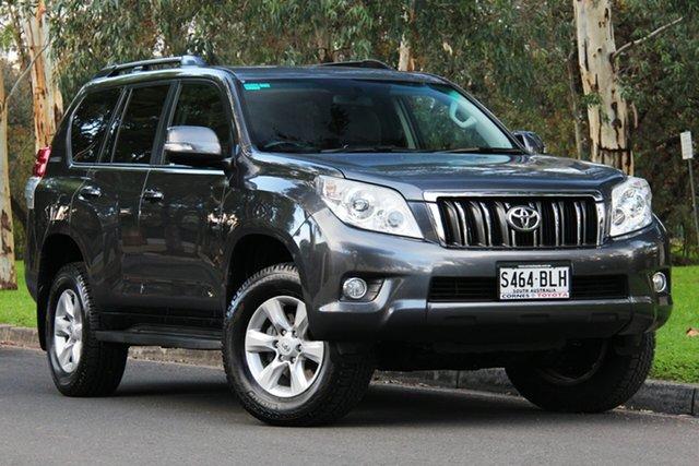 Used Toyota Landcruiser Prado KDJ150R GXL, 2012 Toyota Landcruiser Prado KDJ150R GXL Graphite 5 Speed Sports Automatic Wagon