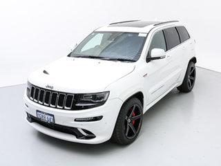 2015 Jeep Grand Cherokee WK MY15 SRT 8 (4x4) White 8 Speed Automatic Wagon