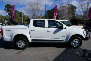2013 Holden Colorado RG MY14 LX Crew Cab White 6 Speed Sports Automatic Utility