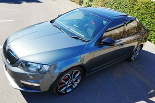 2015 Skoda Octavia NE MY15.5 RS Sedan DSG 162TSI Grey 6 Speed Sports Automatic Dual Clutch Liftback