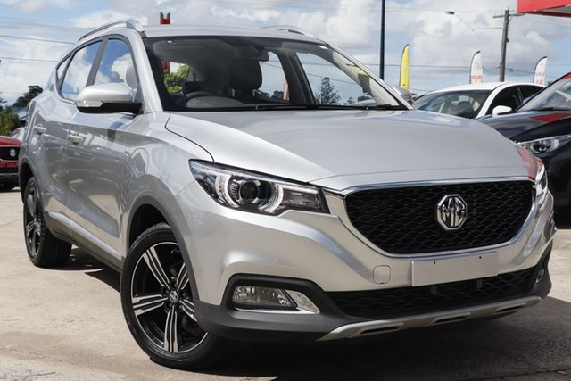 New MG ZS AZS1 MY19 Excite 2WD, 2019 MG ZS AZS1 MY19 Excite 2WD Scottish Silver 4 Speed Automatic Wagon