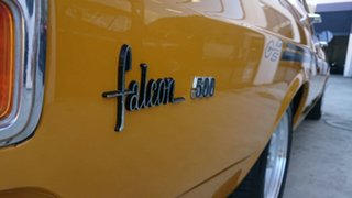 1971 Ford Falcon XY 0 Yellow 3 Speed Automatic Sedan