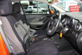 2016 Holden Trax TJ MY16 Black Orange 6 Speed Automatic Wagon