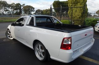 2012 Ford Falcon FG MkII XR6 Ute Super Cab EcoLPi White 6 Speed Sports Automatic Utility