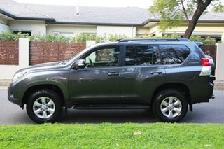 2012 Toyota Landcruiser Prado KDJ150R GXL Graphite 5 Speed Sports Automatic Wagon