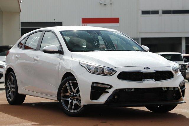 New Kia Cerato BD MY20 Sport+, 2020 Kia Cerato BD MY20 Sport+ Snow White Pearl 6 Speed Sports Automatic Hatchback