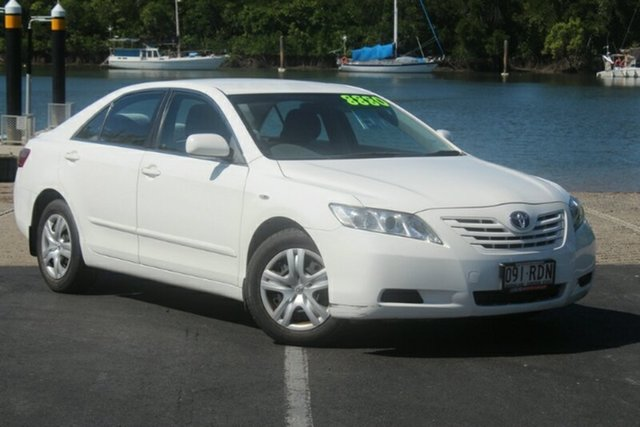 Used Toyota Camry ACV40R Altise, 2008 Toyota Camry ACV40R Altise White 5 Speed Automatic Sedan