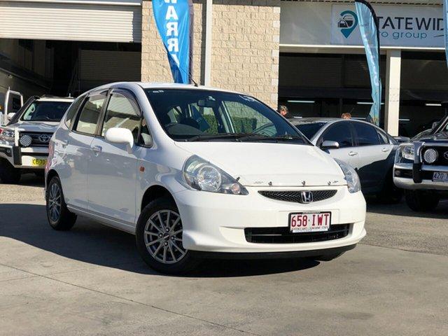 Used Honda Jazz GD MY05 VTi, 2005 Honda Jazz GD MY05 VTi White 5 Speed Manual Hatchback