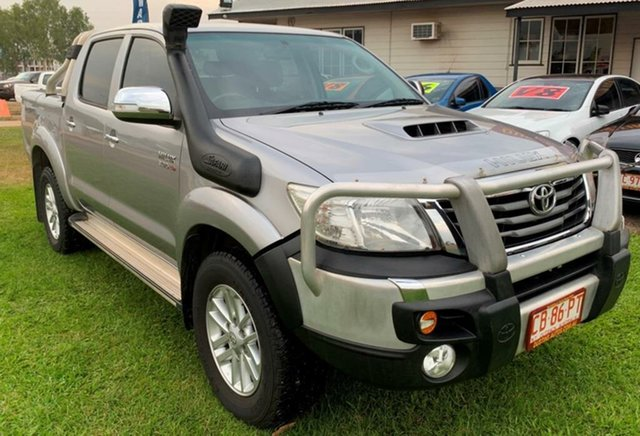 Used Toyota Hilux KUN26R MY14 SR5 Double Cab, 2015 Toyota Hilux KUN26R MY14 SR5 Double Cab Grey 5 Speed Automatic Utility