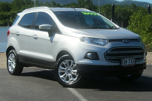 Used Ford Ecosport BK Titanium, 2014 Ford Ecosport BK Titanium Silver 5 Speed Manual Wagon