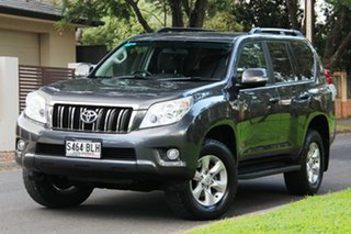 2012 Toyota Landcruiser Prado KDJ150R GXL Graphite 5 Speed Sports Automatic Wagon.