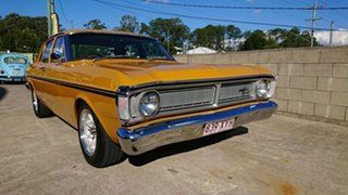 1971 Ford Falcon XY 0 Yellow 3 Speed Automatic Sedan.