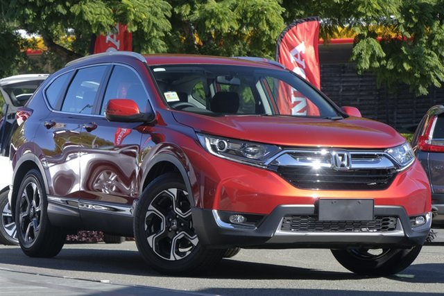 Demo Honda CR-V RW MY19 VTi-L FWD, 2018 Honda CR-V RW MY19 VTi-L FWD Passion Red 1 Speed Constant Variable Wagon