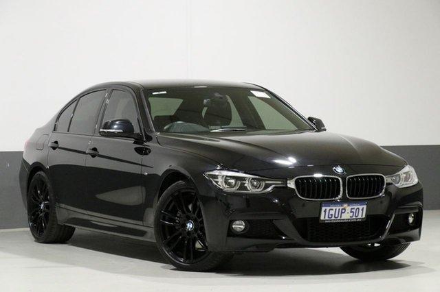Used BMW 330i F30 LCI MY18 M Sport, 2018 BMW 330i F30 LCI MY18 M Sport Black 8 Speed Automatic Sedan