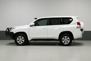 2012 Toyota Landcruiser Prado KDJ150R 11 Upgrade GXL (4x4) White 5 Speed Sequential Auto Wagon