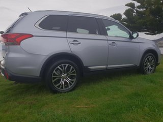 2016 Mitsubishi Outlander ZK MY16 LS 4WD Sterling Silver 6 Speed Constant Variable Wagon.