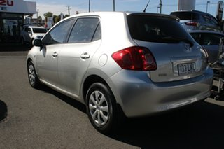 2008 Toyota Corolla ZRE152R Ascent Millenium Silver 4 Speed Automatic Hatchback.