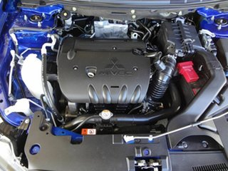 2014 Mitsubishi Lancer CJ MY14.5 LX Blue 5 Speed Manual Sedan
