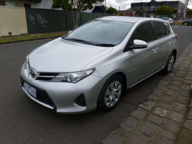 Used Toyota Corolla ZRE182R Ascent S-CVT, 2014 Toyota Corolla ZRE182R Ascent S-CVT Silver 7 Speed Constant Variable Hatchback