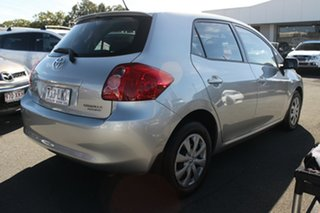 2008 Toyota Corolla ZRE152R Ascent Millenium Silver 4 Speed Automatic Hatchback