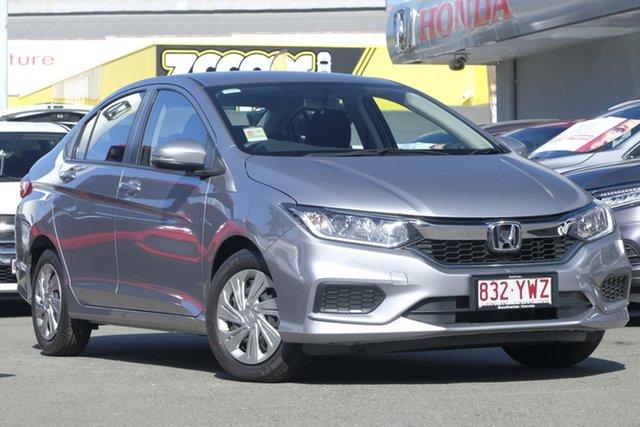 Demo Honda City GM MY19 VTi, 2019 Honda City GM MY19 VTi Lunar Silver 1 Speed Constant Variable Sedan