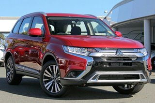 2019 Mitsubishi Outlander ZL MY19 ES 2WD Red Diamond 6 Speed Constant Variable Wagon.