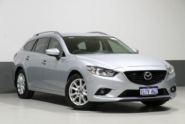 Used Mazda 6 6C MY15 Sport, 2016 Mazda 6 6C MY15 Sport Silver 6 Speed Automatic Wagon