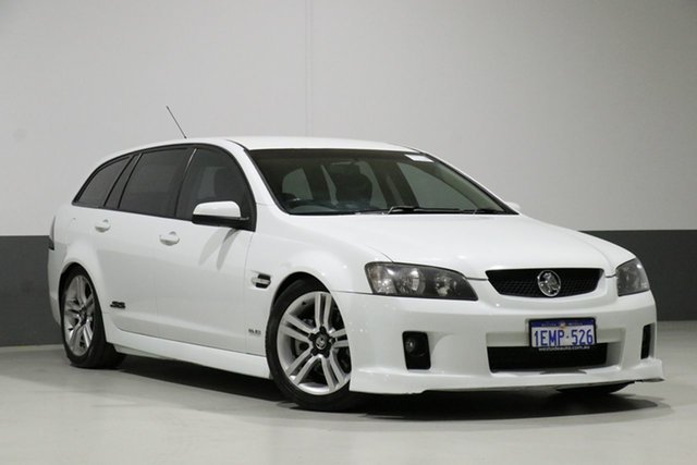 Used Holden Commodore VE MY09.5 SS, 2009 Holden Commodore VE MY09.5 SS White 6 Speed Automatic Sportswagon